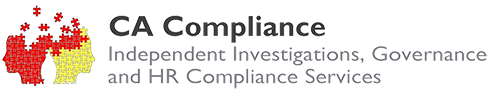 CA Compliance: Independent investigations, governance and HR compliance services Logo